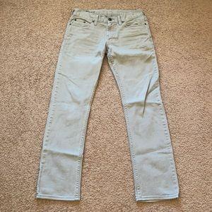Bull head gray skinny jeans